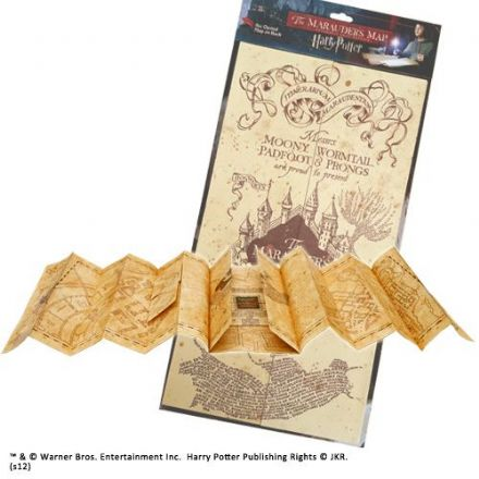 Harry Potter Replica Marauders Map
